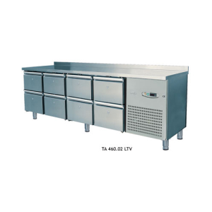 Bench Type Deep Freezer with 2-4-6-8 Drawers